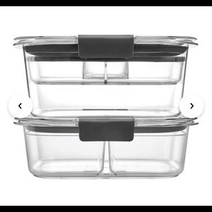 🆕 Rubbermaid Brilliance Salad & Snack Lunch Set